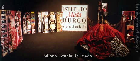 Cinzia monti at istituto di moda burgo the international for Istituto moda burgo milano
