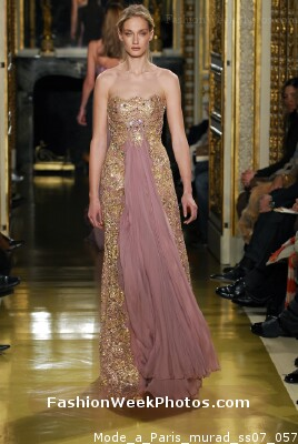 Zuhair murad from mode paris for Haute couture requirements